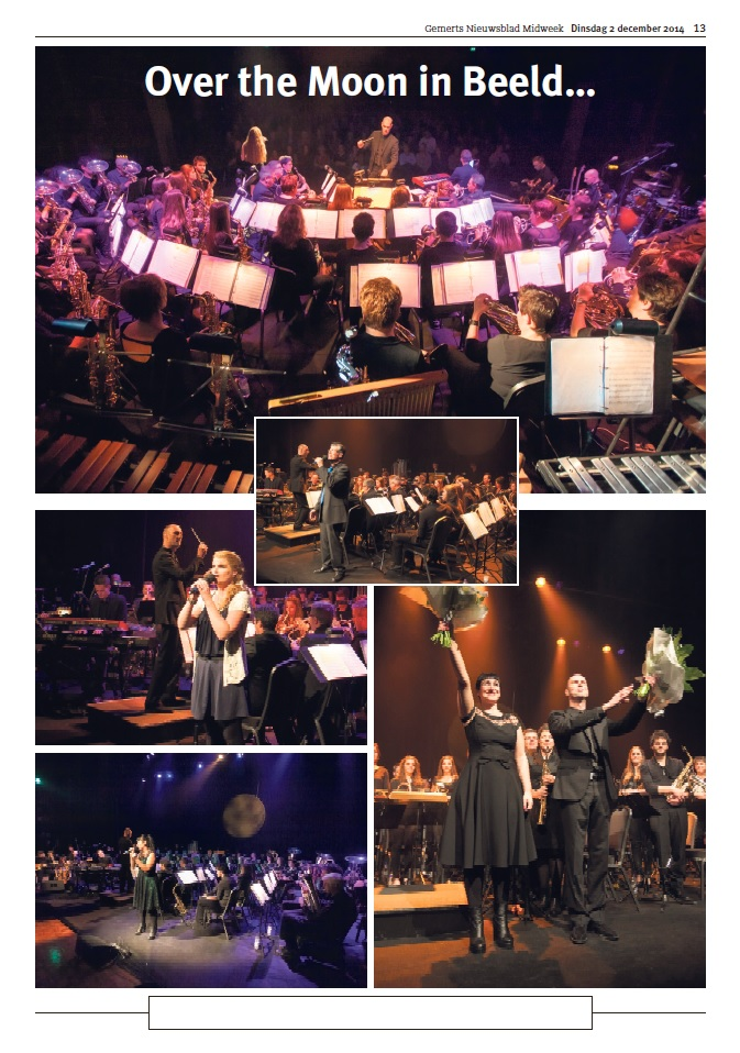 20141202 Na PR Theaterconcert Over The Moon Gemerts Nieuwsblad fotopagina