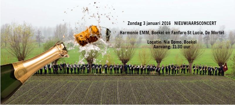20151230 Aankondiging Nieuwjaarsconcert facebook