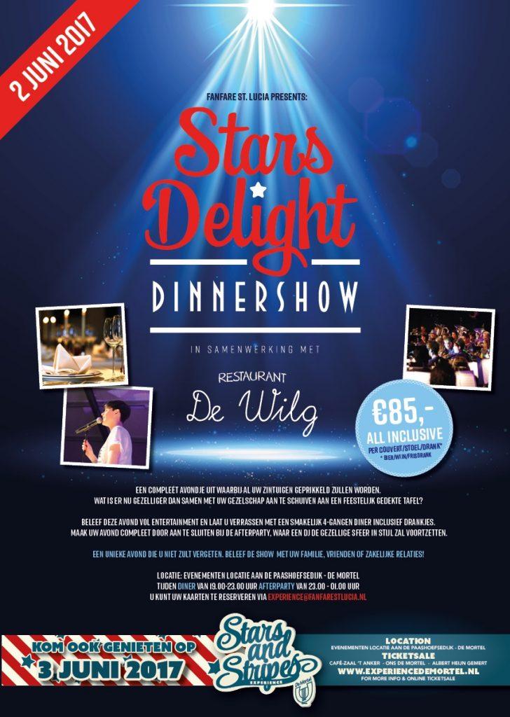 Stars Delight Dinnershow - Fanfare St Lucia