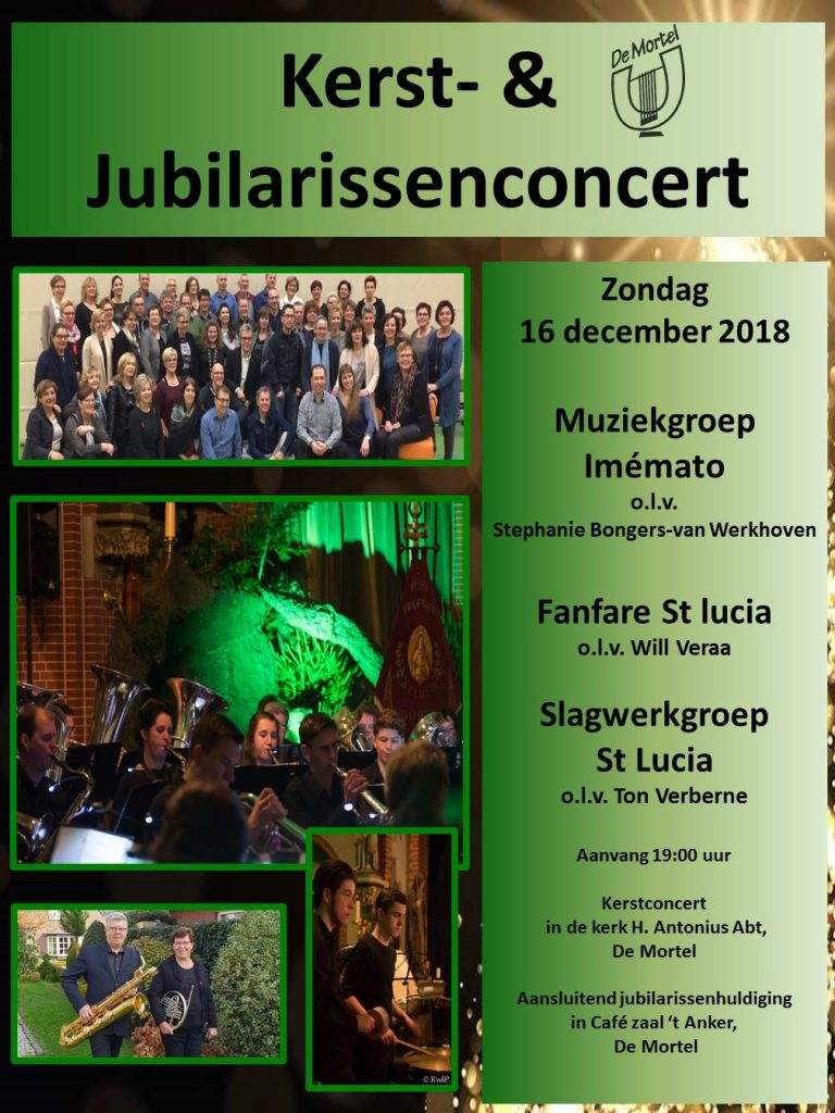 Kerst poster 2018 staand