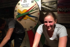 20161007 St Lucia tijdens Indoor Bike event